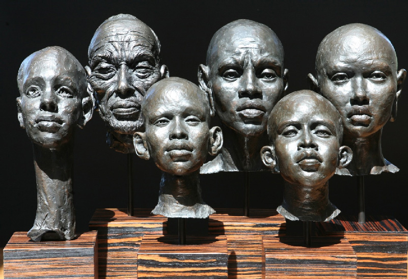 African Busts